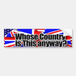 whose country bumper stickers