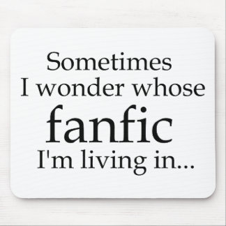 Whose Fanfic? Mouse Pad