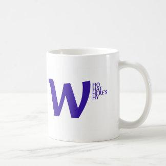 whowhatwhereswhy.jpg classic white coffee mug