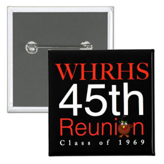 WHRHS Class of 1969 Button