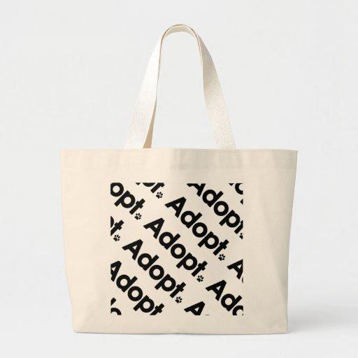 WHS Adopt Logo Bag