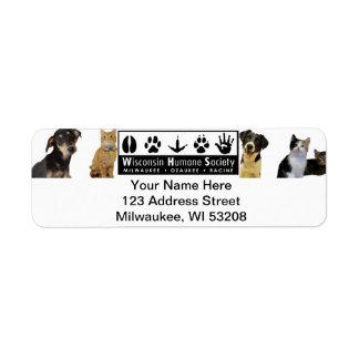 WHS Logo Address Labels