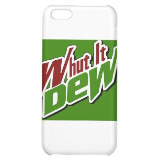Whut It Dew? -- T-Shirt Case For iPhone 5C