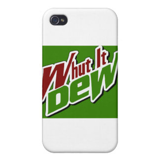 Whut It Dew? -- T-Shirt Cases For iPhone 4