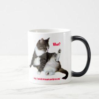 ¿Whut? Taza del gato