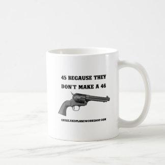 Why A 45 Classic White Coffee Mug