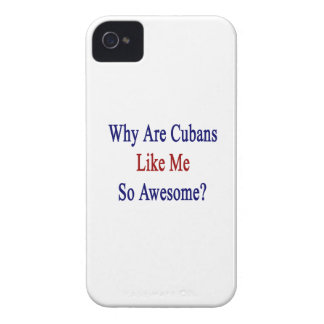 Why Are Cubans Like Me So Awesome? iPhone 4 Case