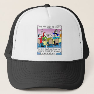 Why are Jews so loud? Trucker Hat