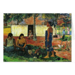 Why Are You Angry? (No Te Aha Oe Riri?) By Gauguin Cards