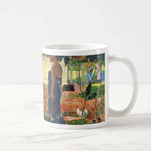 Why Are You Angry? (No Te Aha Oe Riri?) By Gauguin Classic White Coffee Mug