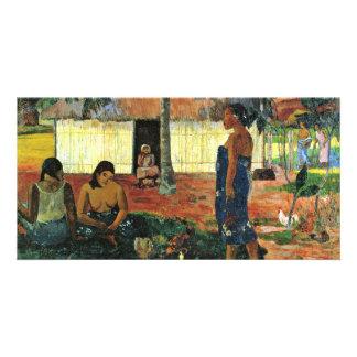 Why Are You Angry? (No Te Aha Oe Riri?) By Gauguin Photo Card