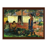 Why Are You Angry? (No Te Aha Oe Riri?) By Gauguin Post Card