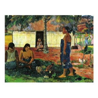 Why Are You Angry? (No Te Aha Oe Riri?) By Gauguin Postcard
