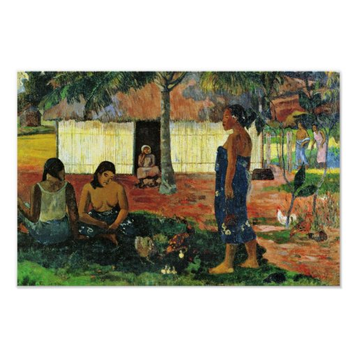 Why Are You Angry? (No Te Aha Oe Riri?) By Gauguin Posters