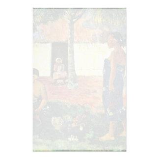 Why Are You Angry? (No Te Aha Oe Riri?) By Gauguin Custom Stationery