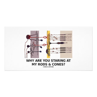 Why Are You Staring At My Rods & Cones? Card