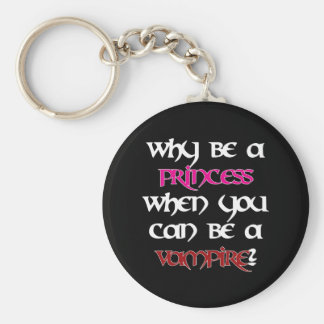 Why be a princess... [Black] Keychains