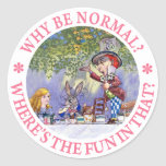 WHY BE NORMAL? STICKERS