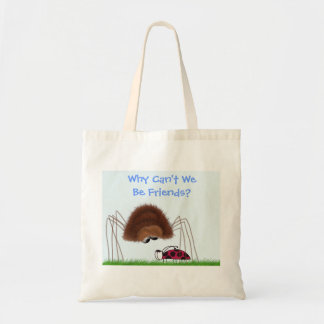 Why Can't We Be Friends? Tote Bag