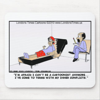 Why Cartoonists Retire Funny Tees Cards Mugs Gifts Mouse Pad