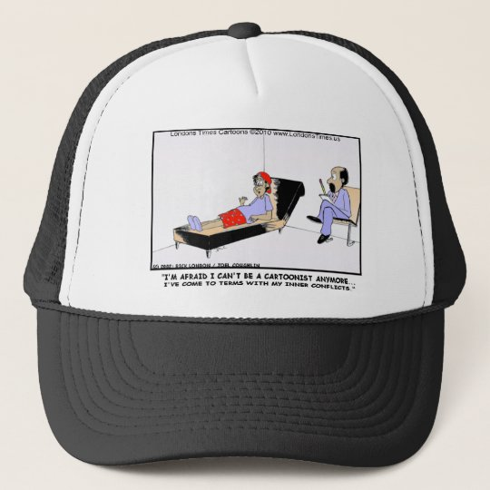 Why Cartoonists Retire Funny Tees Cards Mugs Gifts Trucker Hat