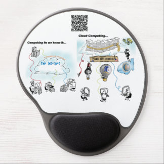Why Cloud Computing is a Bad Idea Gel Mouse Pad