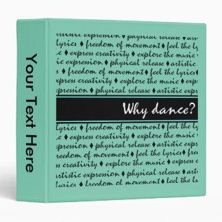 Why Dance Vinyl Binders