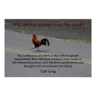 Why Did The Chicken Cross? - poster
