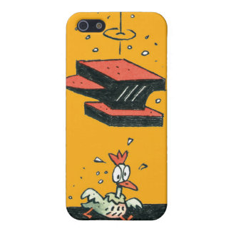 Why did the chicken cross the road? iPhone 5 cover