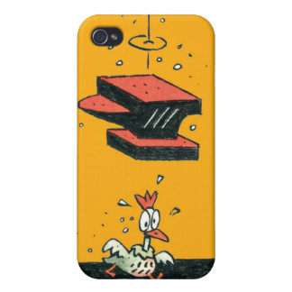 Why did the chicken cross the road? iPhone 4 case