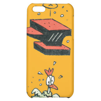 Why did the chicken cross the road? cover for iPhone 5C