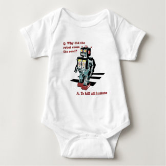 Why Did the Robot Cross the Road Infant Creeper