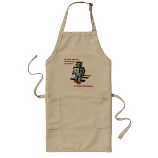 Why Did the Robot Cross the Road Long Apron