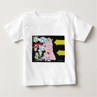 Why Did You Mess With My Feelings Baby T-Shirt