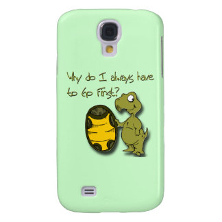 Why do I have to go first turtle green Galaxy S4 Case