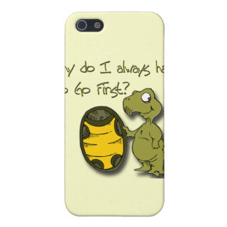 Why do I have to go first turtle green iPhone SE/5/5s Cover