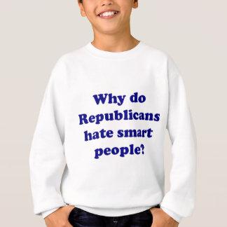 Why Do Republicans Hate Smart People? Sweatshirt