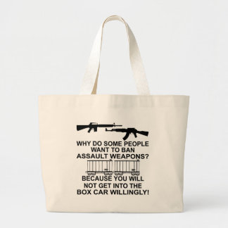 Why Do Some People Want To Ban Assault Weapons Canvas Bags