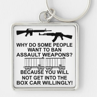 Why Do Some People Want To Ban Assault Weapons Keychain