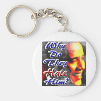 Why Do They Hate Him Keychains