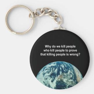 Why do we kill people who kill people to prove kil keychain