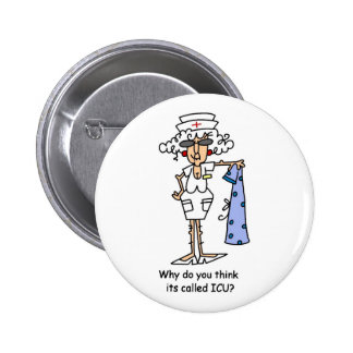 Why do you think it's called ICU? Pinback Button