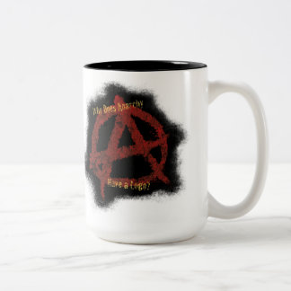 Why Does Anarchy Have a Logo? Mug