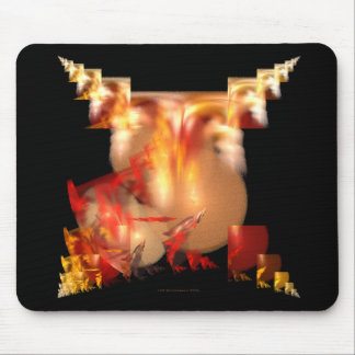 Why Does It Gotta Be So Damned Hot? Mousepad