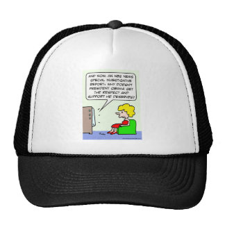 Why doesn't Obama get support he deserves? Trucker Hat