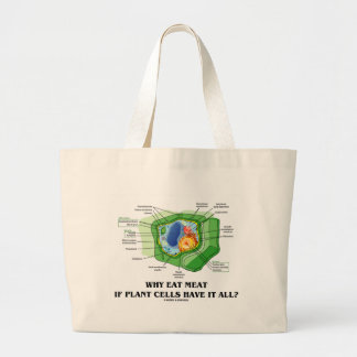 Why Eat Meat If Plant Cells Have It All? (Veg Fun) Bag