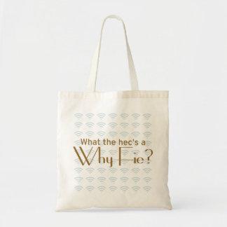 Why Fie? Tote Bag