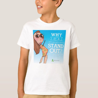 """""""Why fit in?"""" tee shirt"""