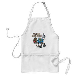 Why Gnomes Can't Be Hunters Adult Apron