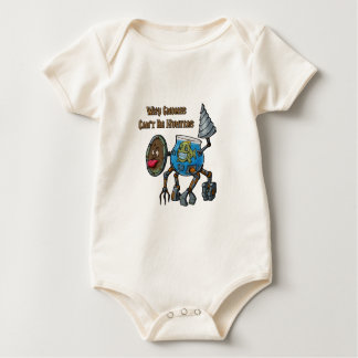 Why Gnomes Can't Be Hunters Baby Bodysuit